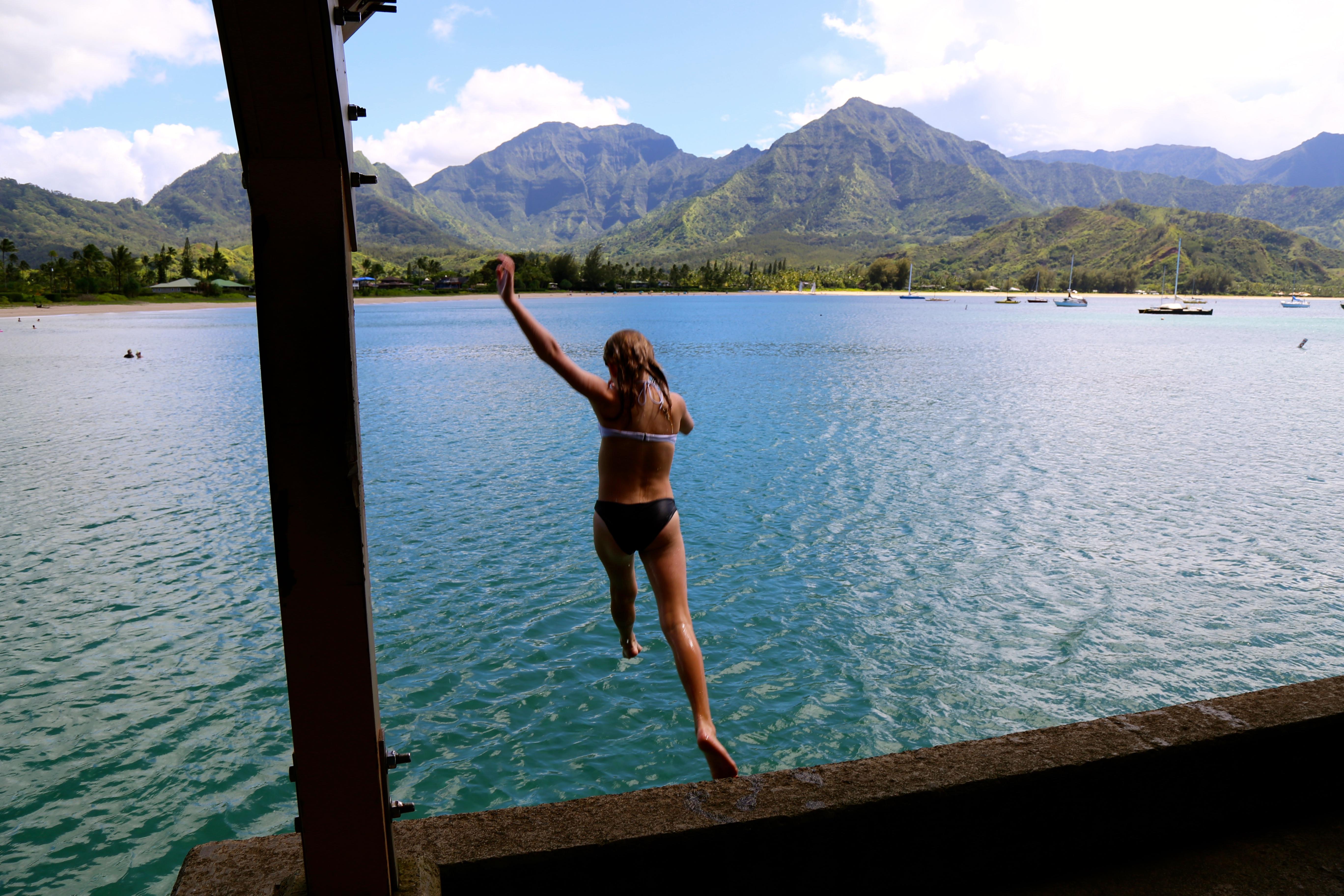 Hanalei Bay un des plus beaux endroits sur Kauai