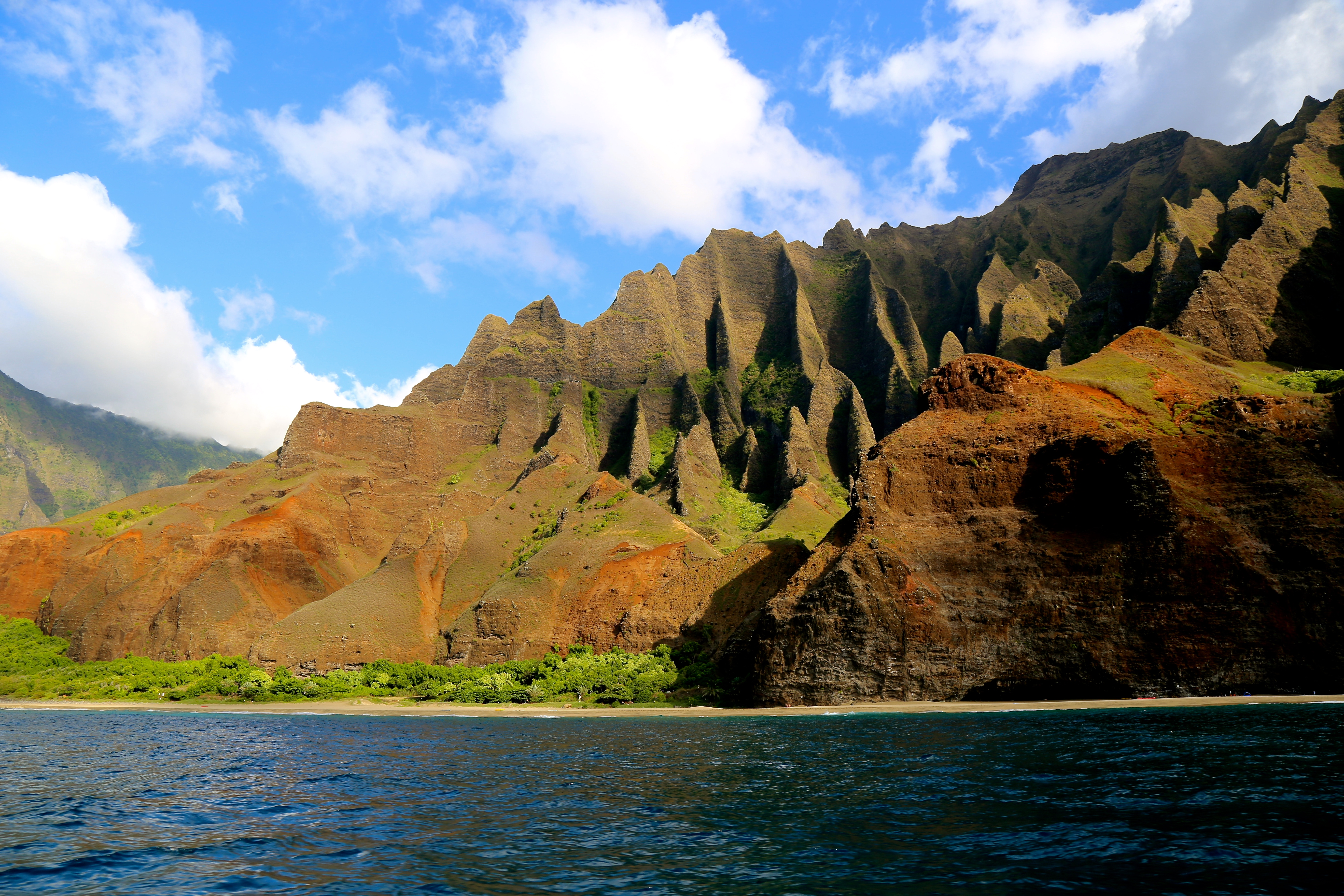les montagnes de Kauai