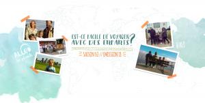 Allo La Planete sur le theme de voyager avec des enfants