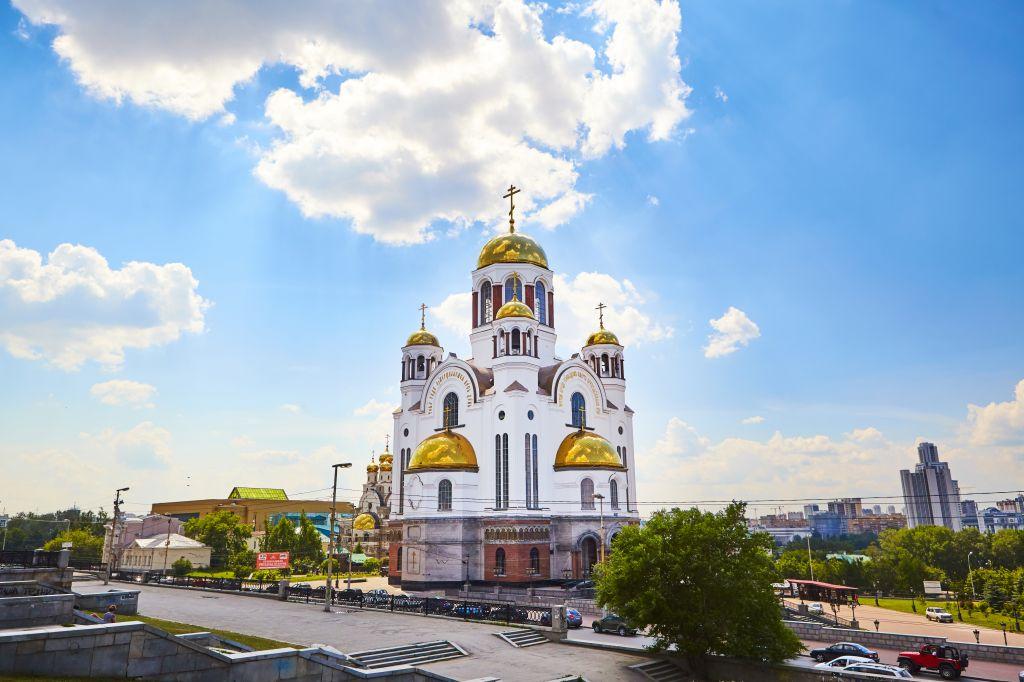 Ekaterinbourg, une des 11 villes de la coupe du monde 2018