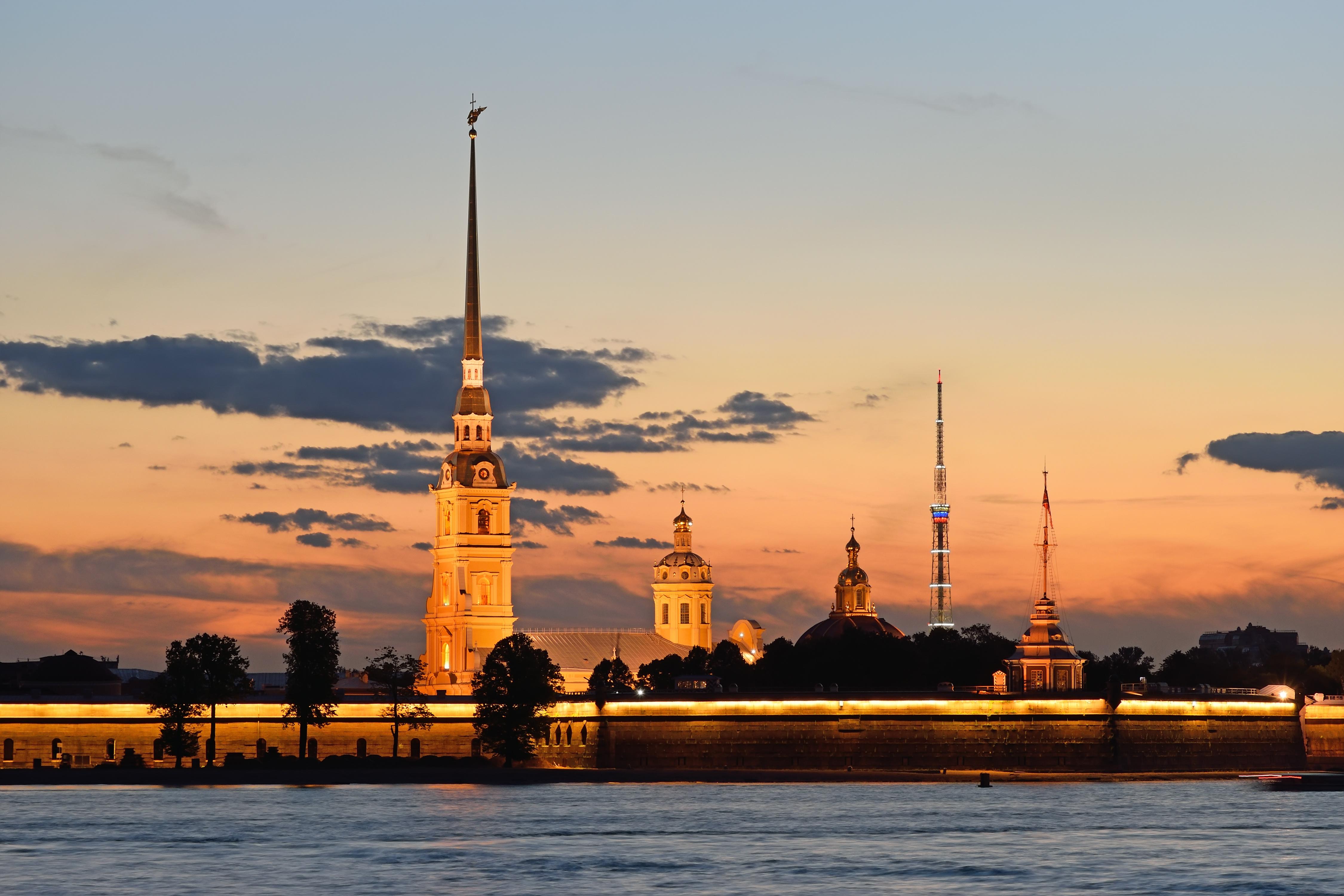 forteresse Pierre-et-Paul à Saint Petersbourg