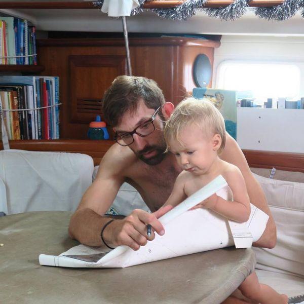 Un tour du monde à la voile avec un enfant en bas âge