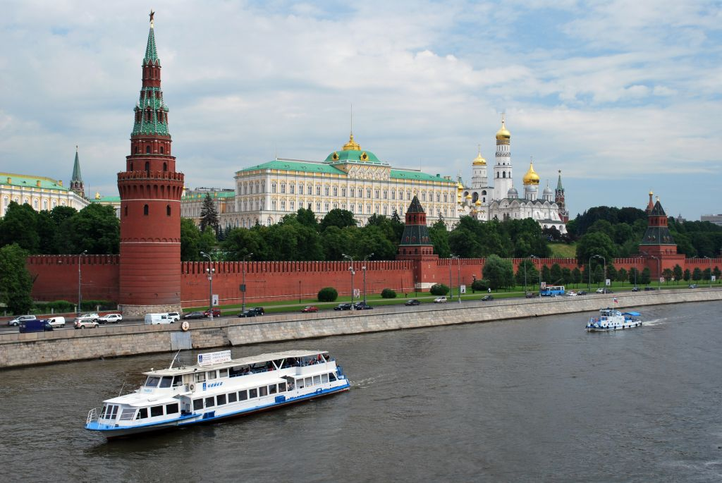 balade et croisière fluviale sur la Moskova