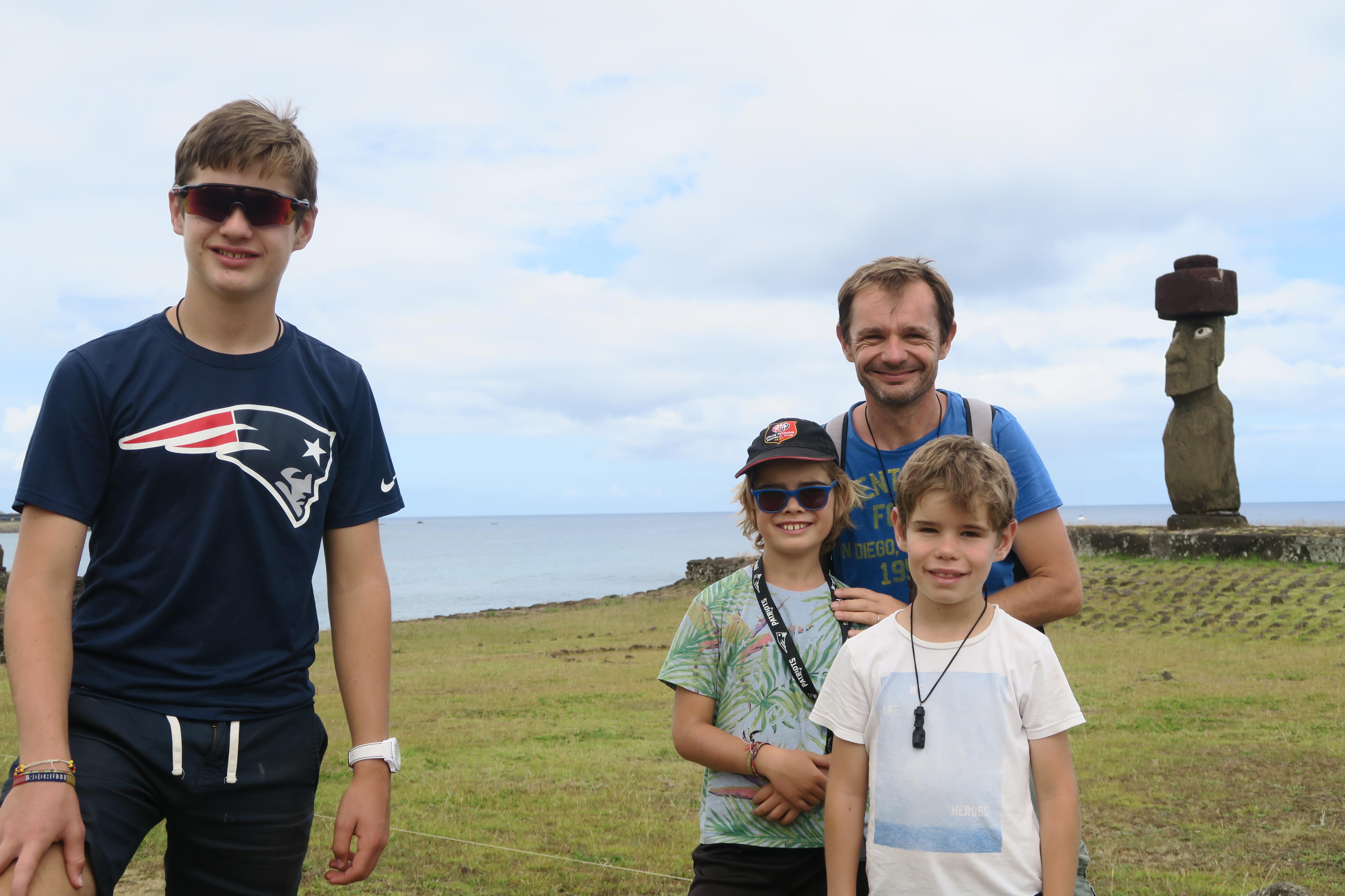voyage sur l'île de Pâques au Chili