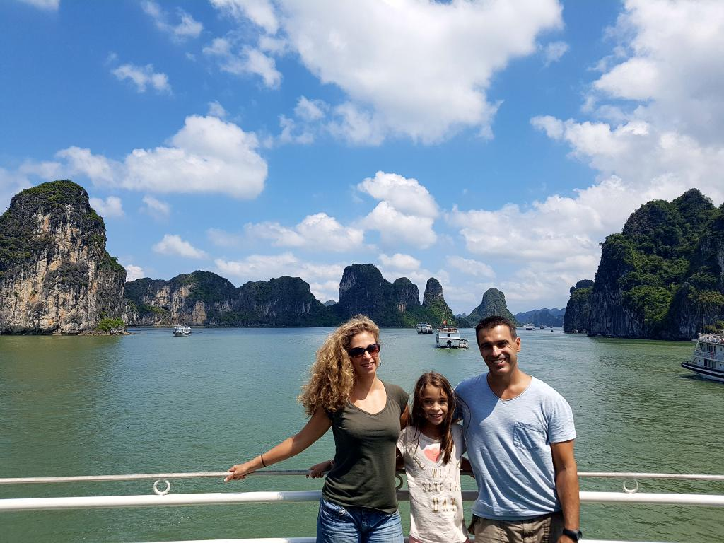 tour d'asie en famille