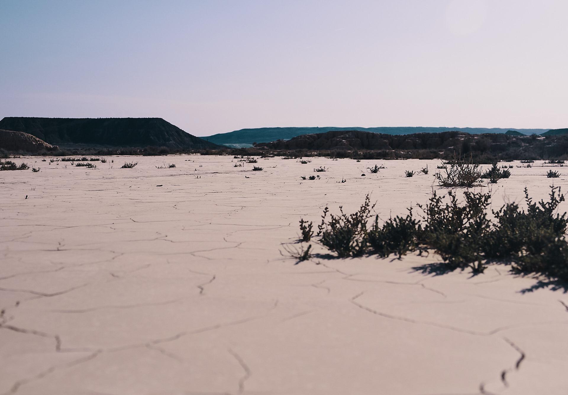 randonnée dans le désert Bardenas Reales