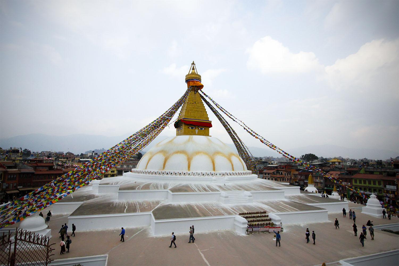 voyage au Nepal a la decouverte du Stupa de Bodhnat