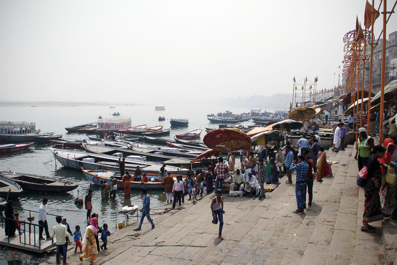 la ville de Varanasi en Inde du Nord