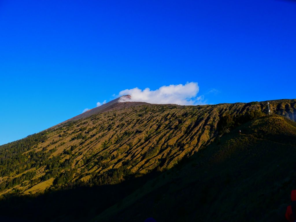 trek mont rinjani indonésie