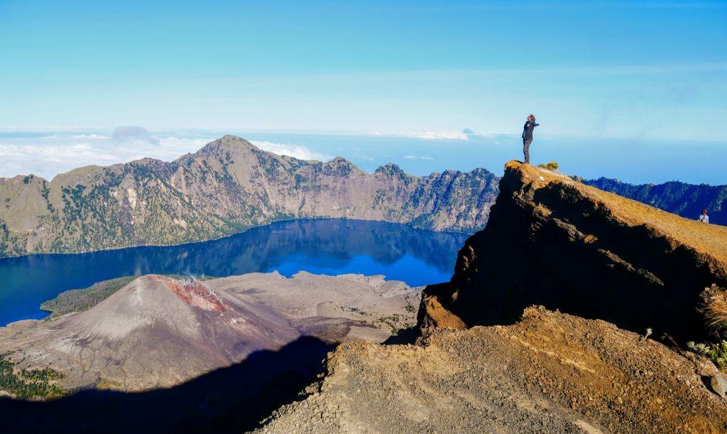 randonnée mont Rinjani Indonésie