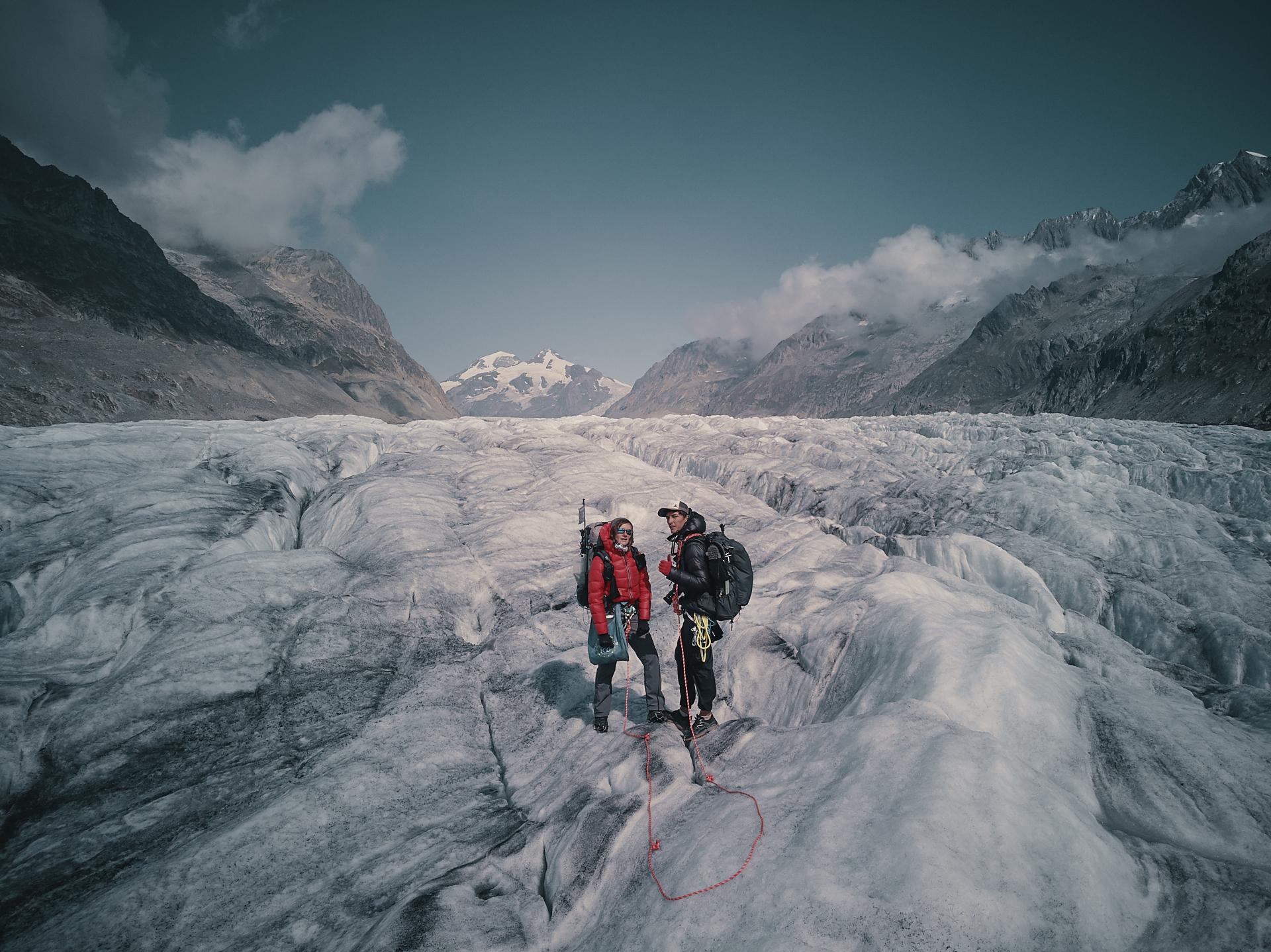 randonnée sur le glacier Alestch