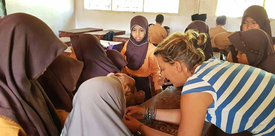 bénévolat indonésie