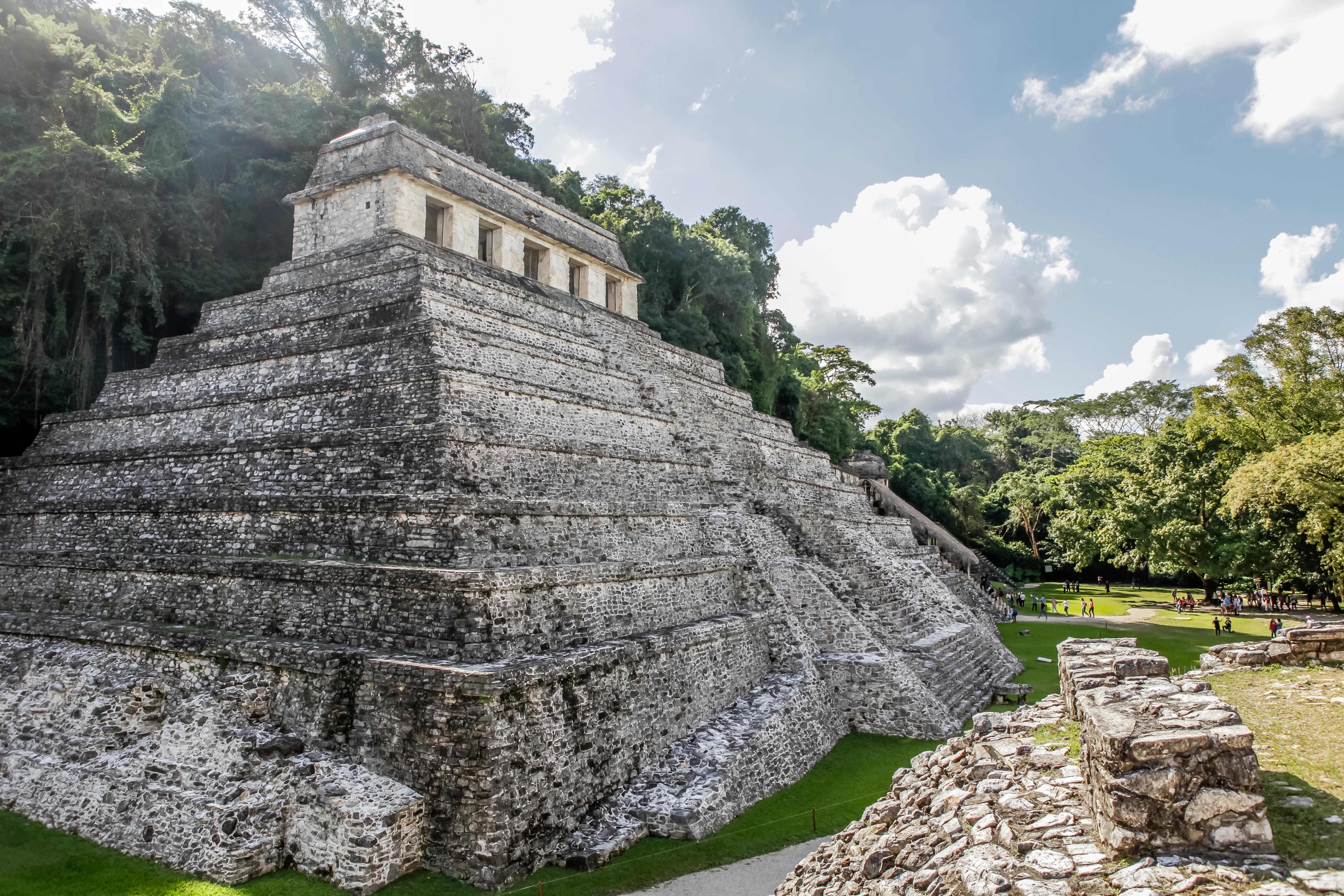 voyage autour du site maya Palenque