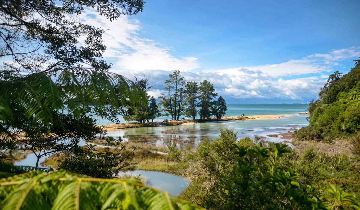 Trek en Nouvelle-Zélande : Abel Tasman