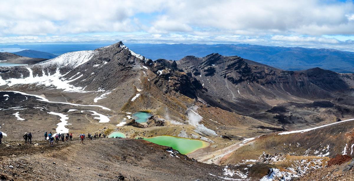 Randonnée en NZ : Tongariro