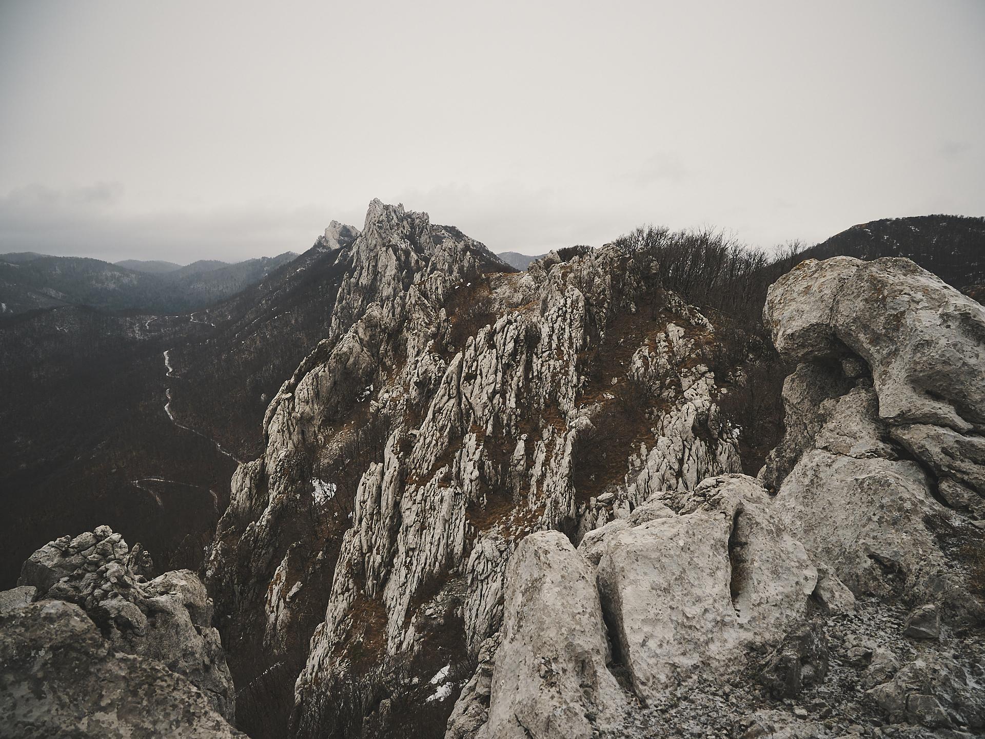 randonnée au mont Velebit en Croatie.