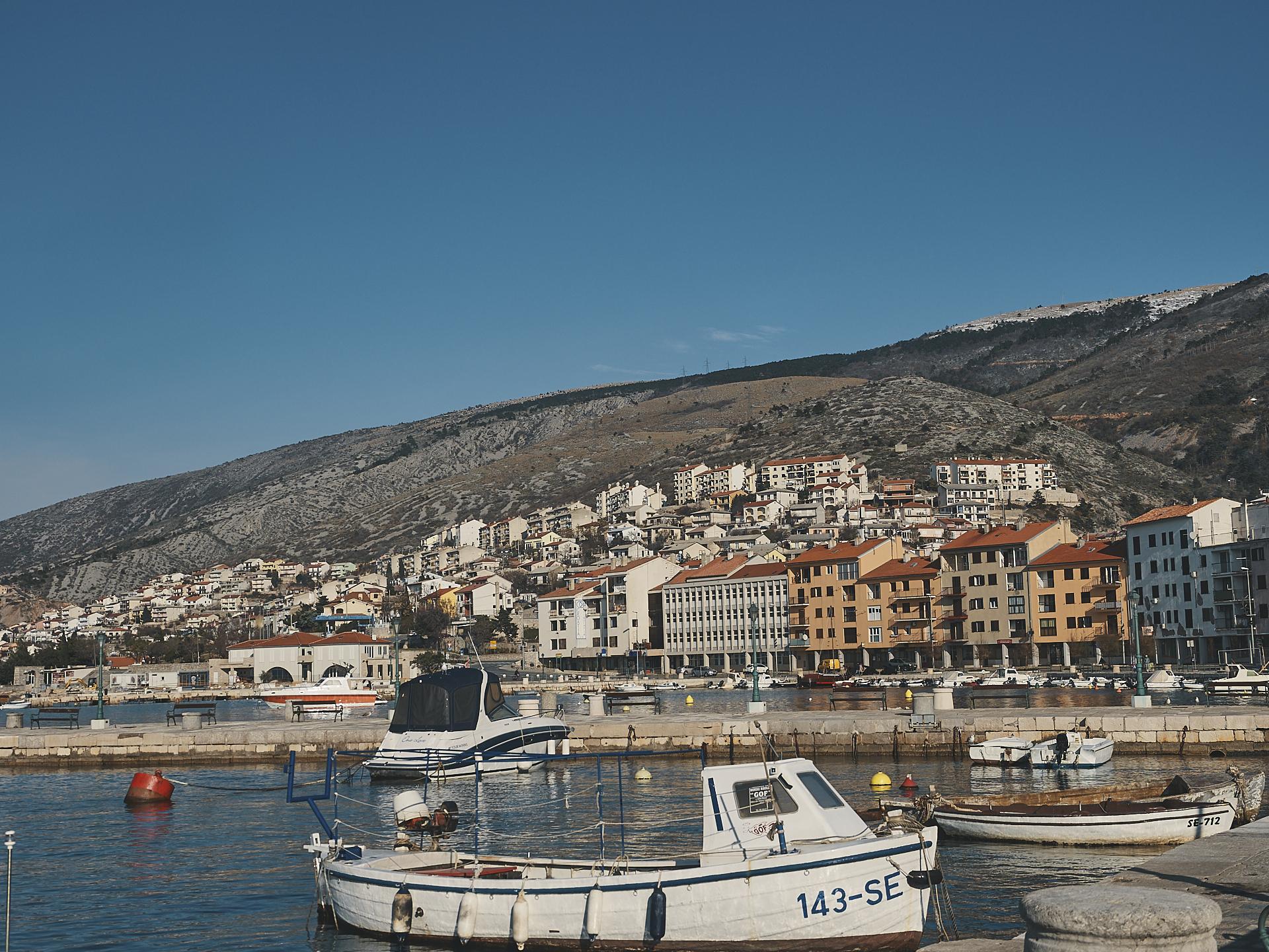 randonnée sur la côte Adriatique de la Croatie