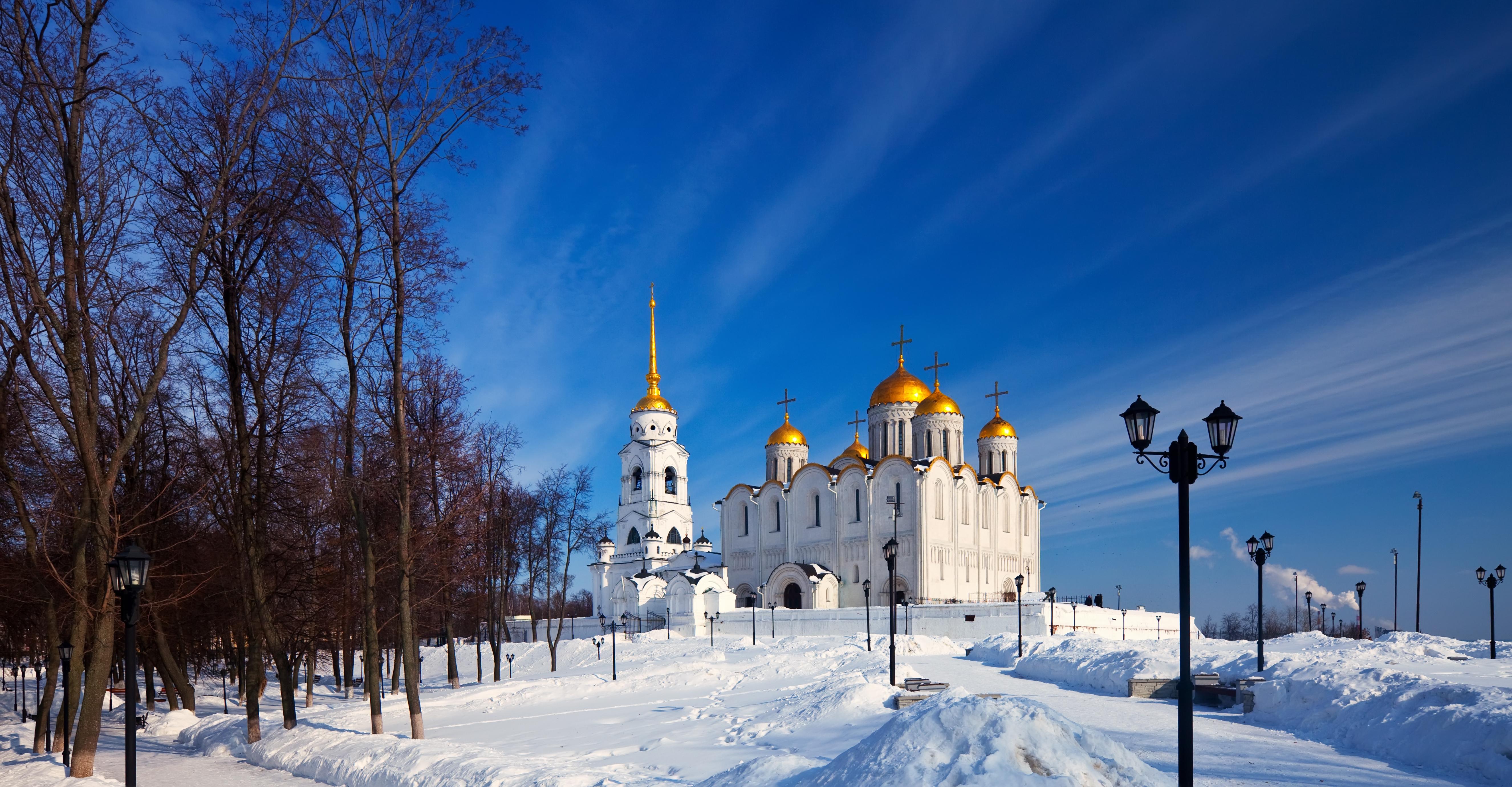 visiter l'anneau d'or en hiver russe