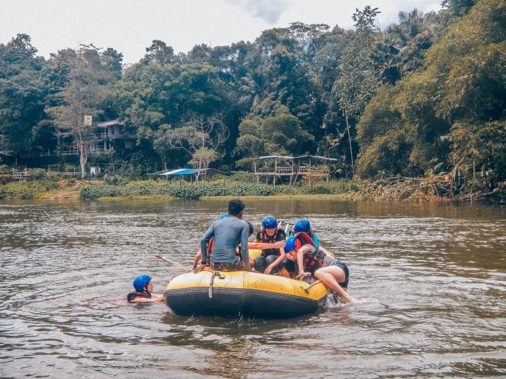 Rafting au Sri Lanka