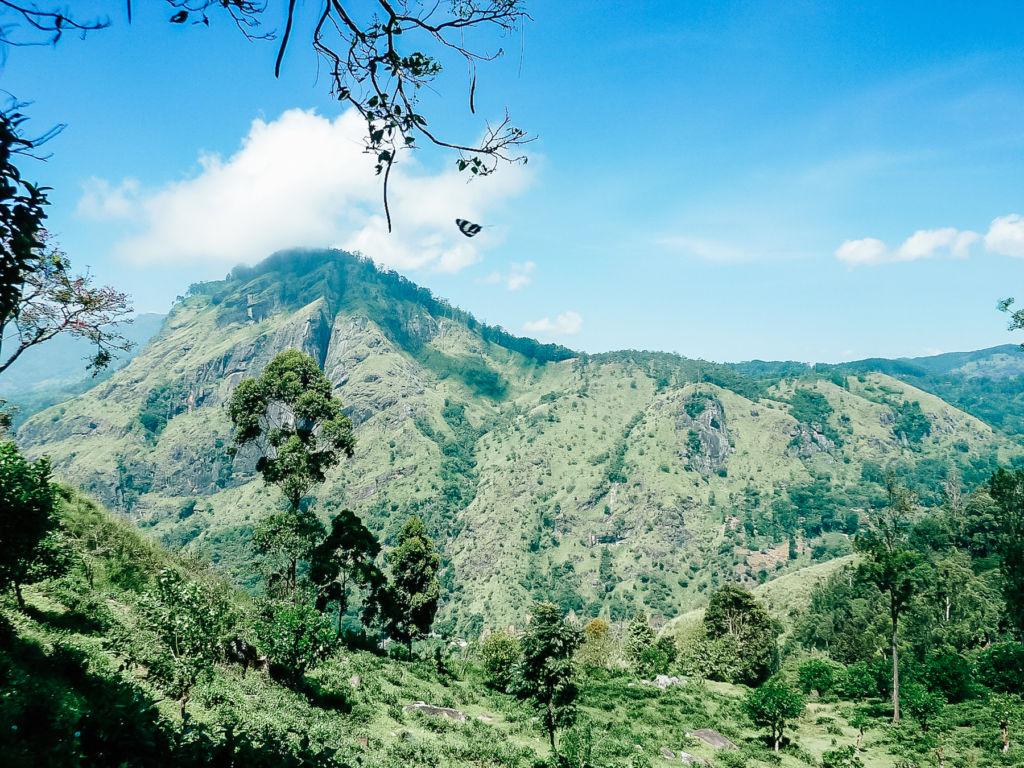 randonnée de l'Adam's Peak au Sri Lanka