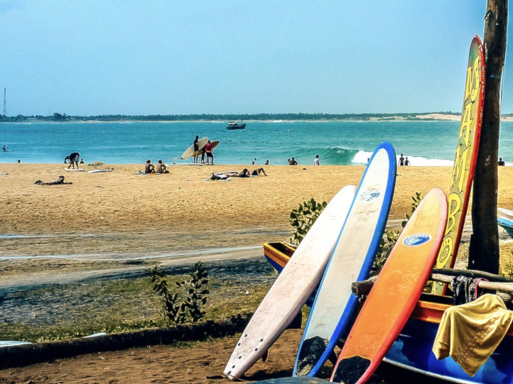 quels spots de surf au Sri Lanka ? Où surfer au Sri Lanka ?