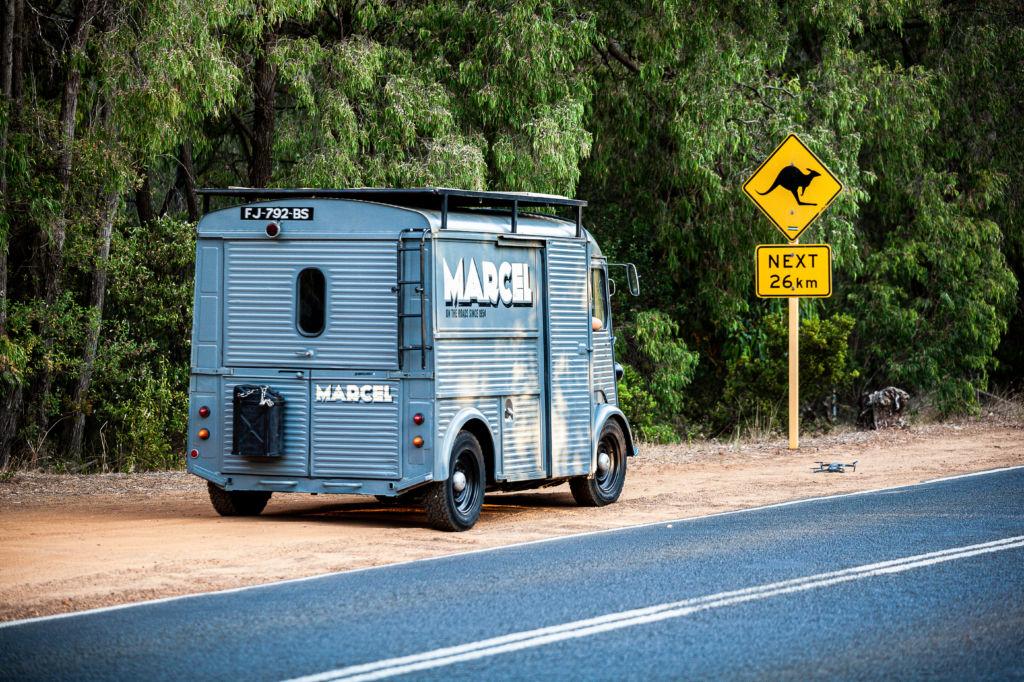 itinéraire australie occidentale en van de perth à margaret river