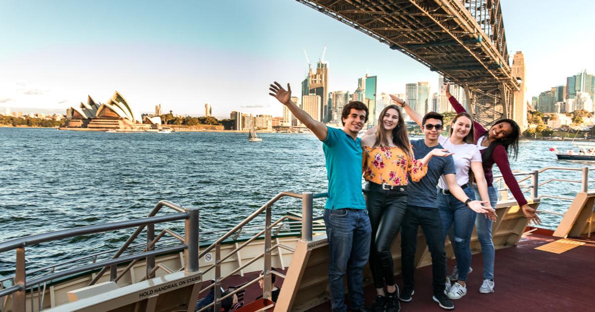 demi pair en Australie